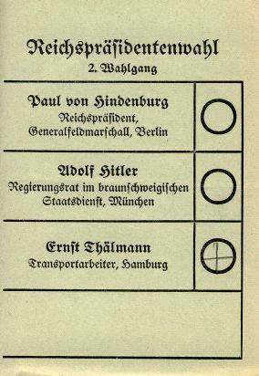 Hitler Oculto: Sexta Legislatura Stimmzettel_zur_Reichspr%C3%A4sidentenwahl_1932