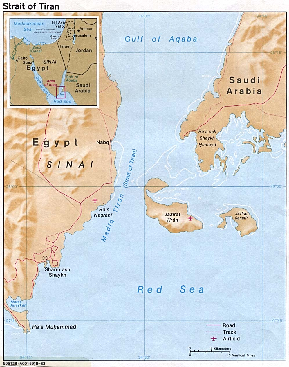 Egipto: Militares y capital transnacional. Strait_tiran_83