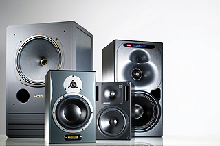 http://upload.wikimedia.org/wikipedia/commons/2/2a/Studio_monitors_-_Tannoy%2C_Dynaudio%2C_Genelec%2C_K%2BH.jpg
