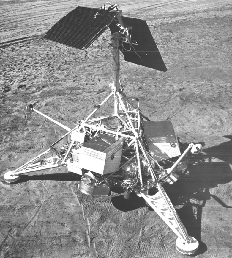NASA-Mondlander Surveyor-1, Quelle: Wikipedia, NASA