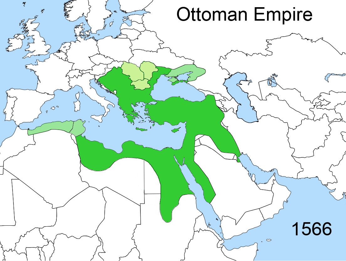 FileTerritorial changes of the Ottoman Empire 1566jpg