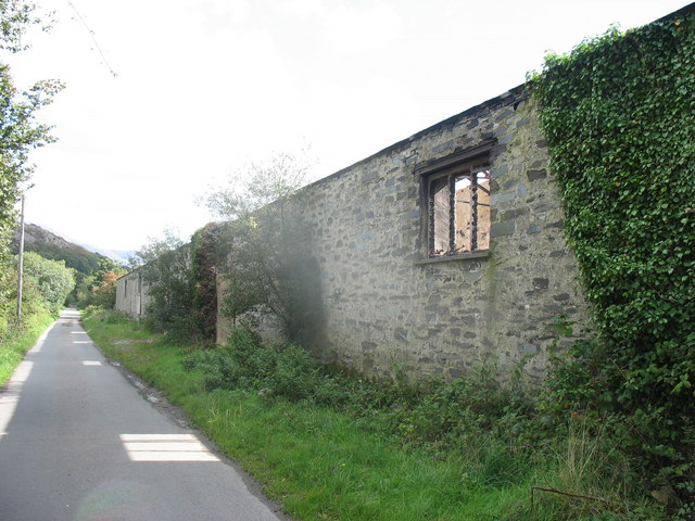 The Dinorwig Quarry Railway Carriage Shed at Stabla - geograph.org.uk - 235103