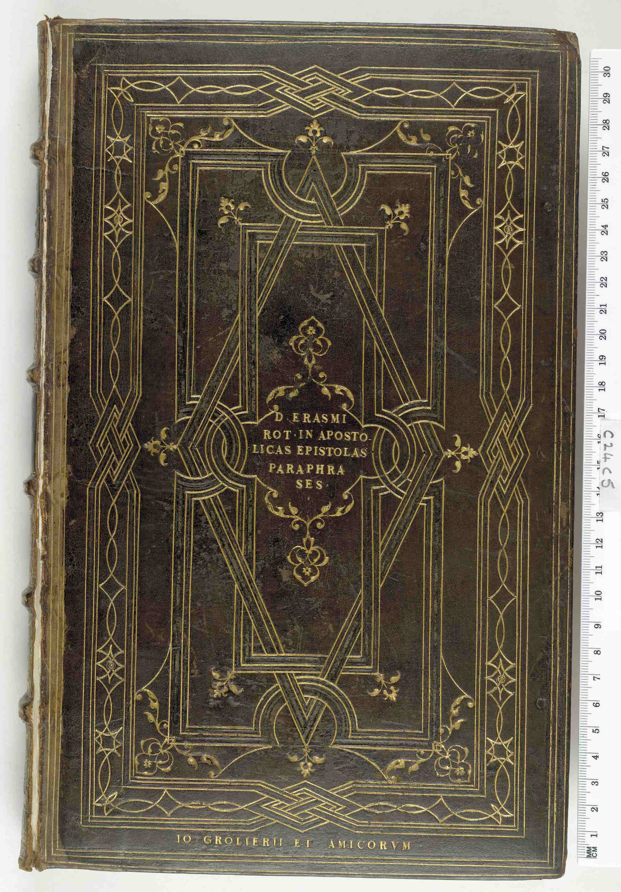 the library of jean grolier a preliminary catalogue