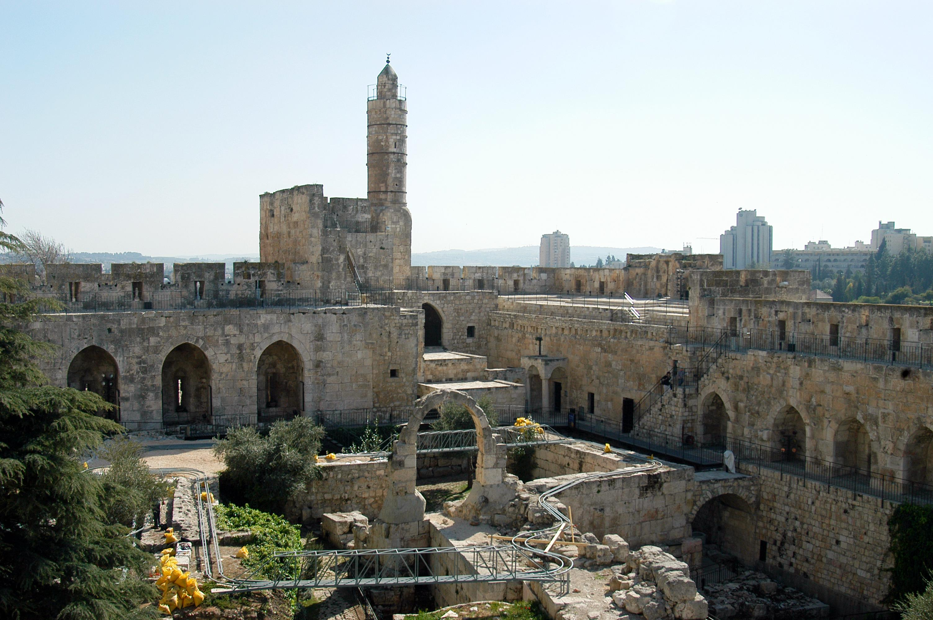 Tower Of David (Citadel), Jerusalem by Wayne McLean (CC)