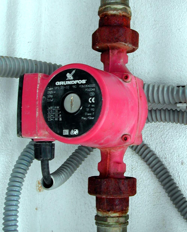 Circulator Pump Wikipedia Piping Diagram Recirculating Hot Water