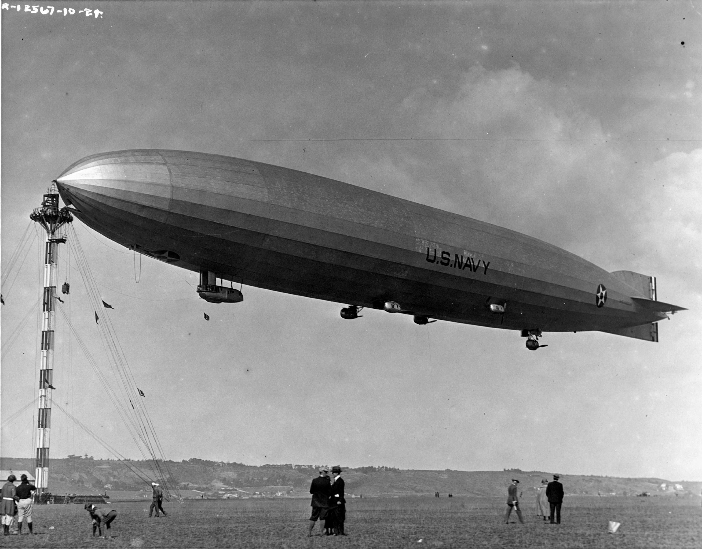 Crashed Airship /'Shenandoah/' Noble Ohio 1925 Photo