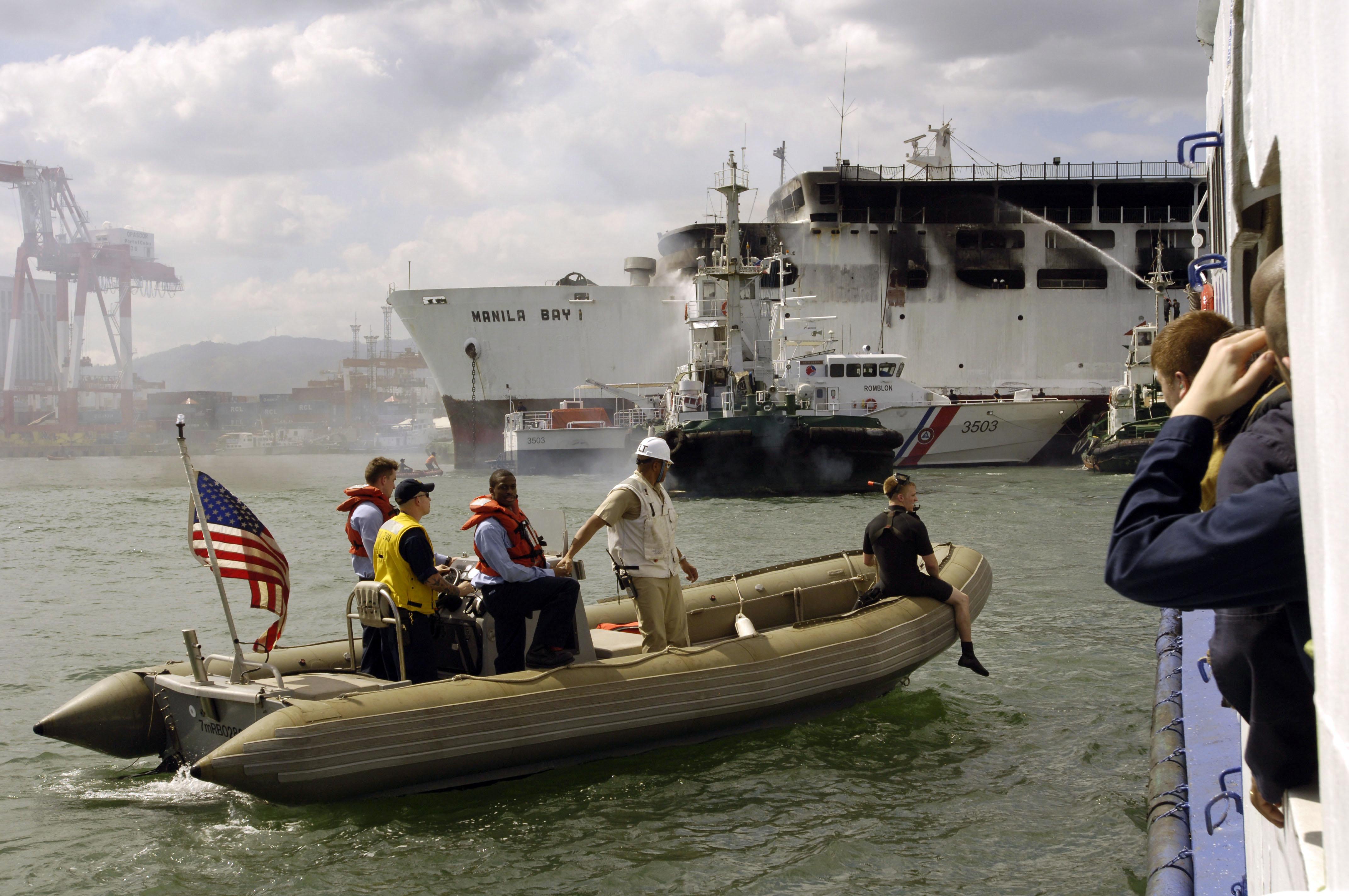 Ferry To Manikaw Island Mi