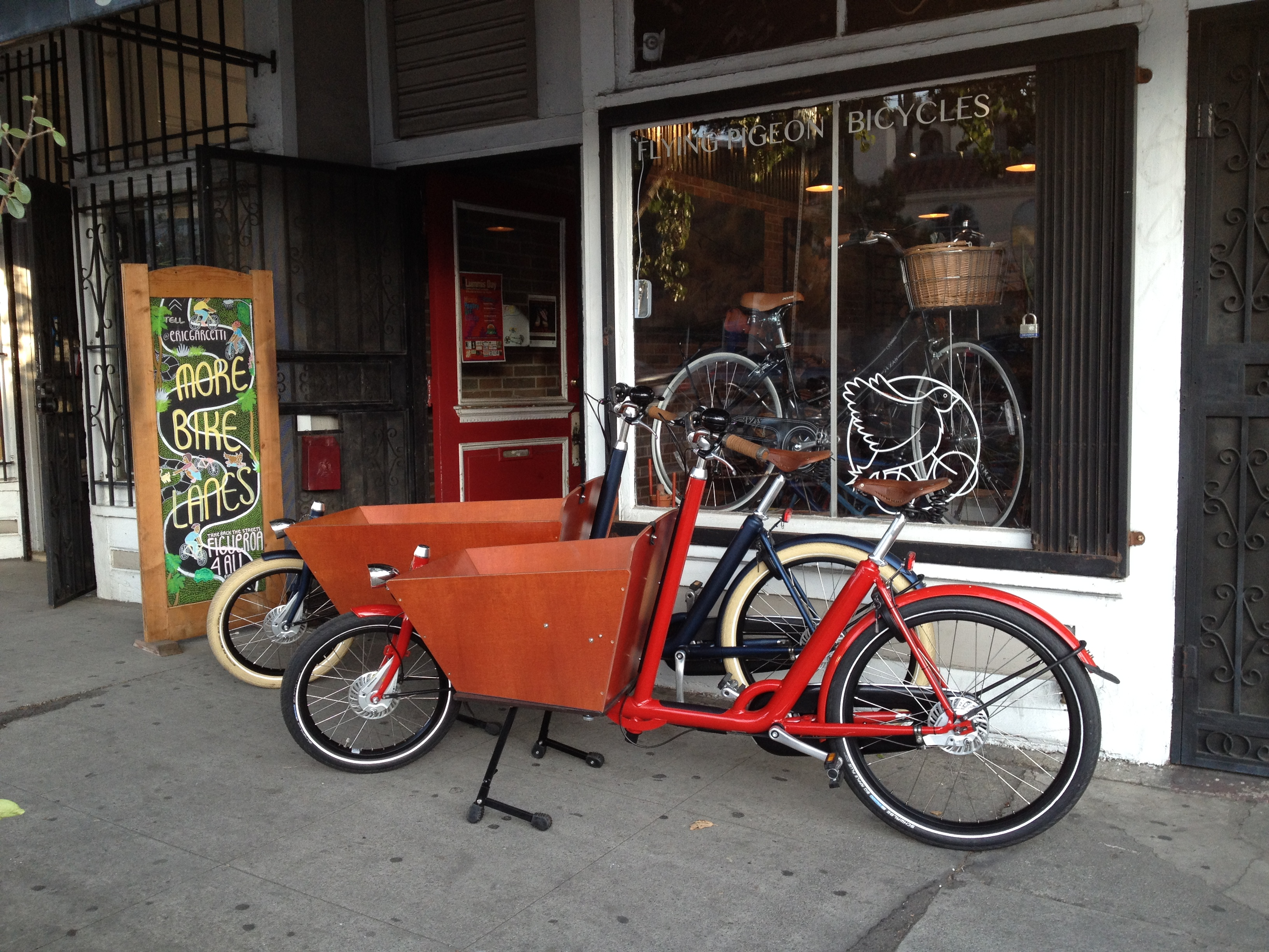 File Vanandel Azor Bakfiets Cargo Bikes At Flying Pigeon La Bike
