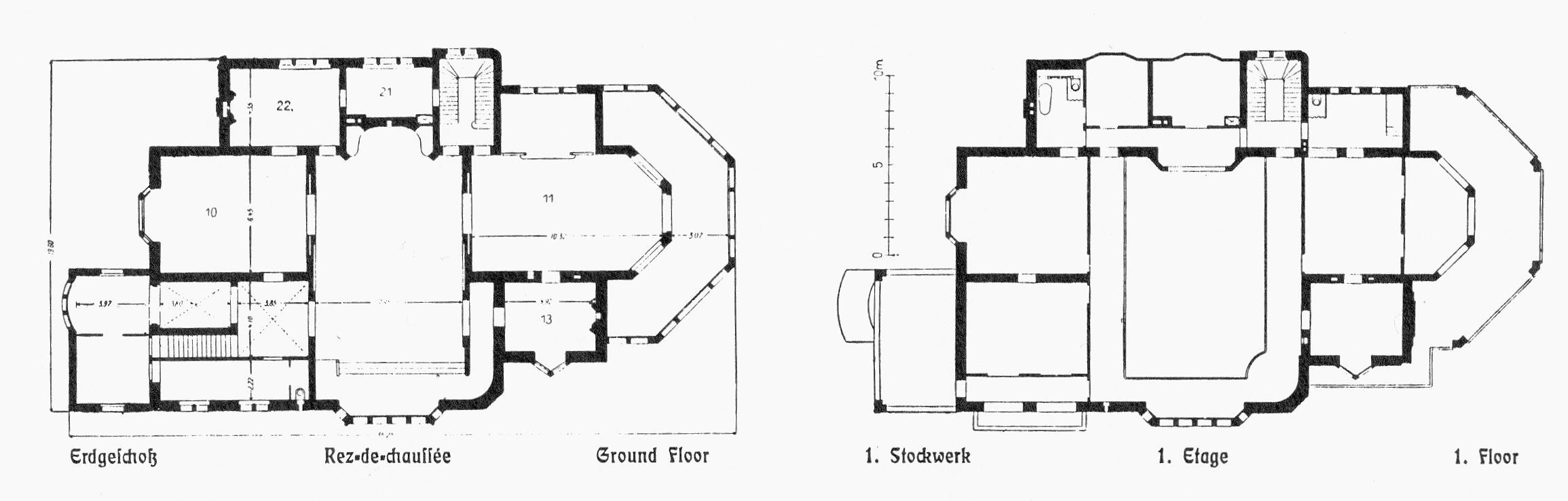 FileVilla Stollwerck Am Bayenthalgurtel 2 In Koln Marienburg Architekt Bruno Schmitz Erbaut Von Mai 1902