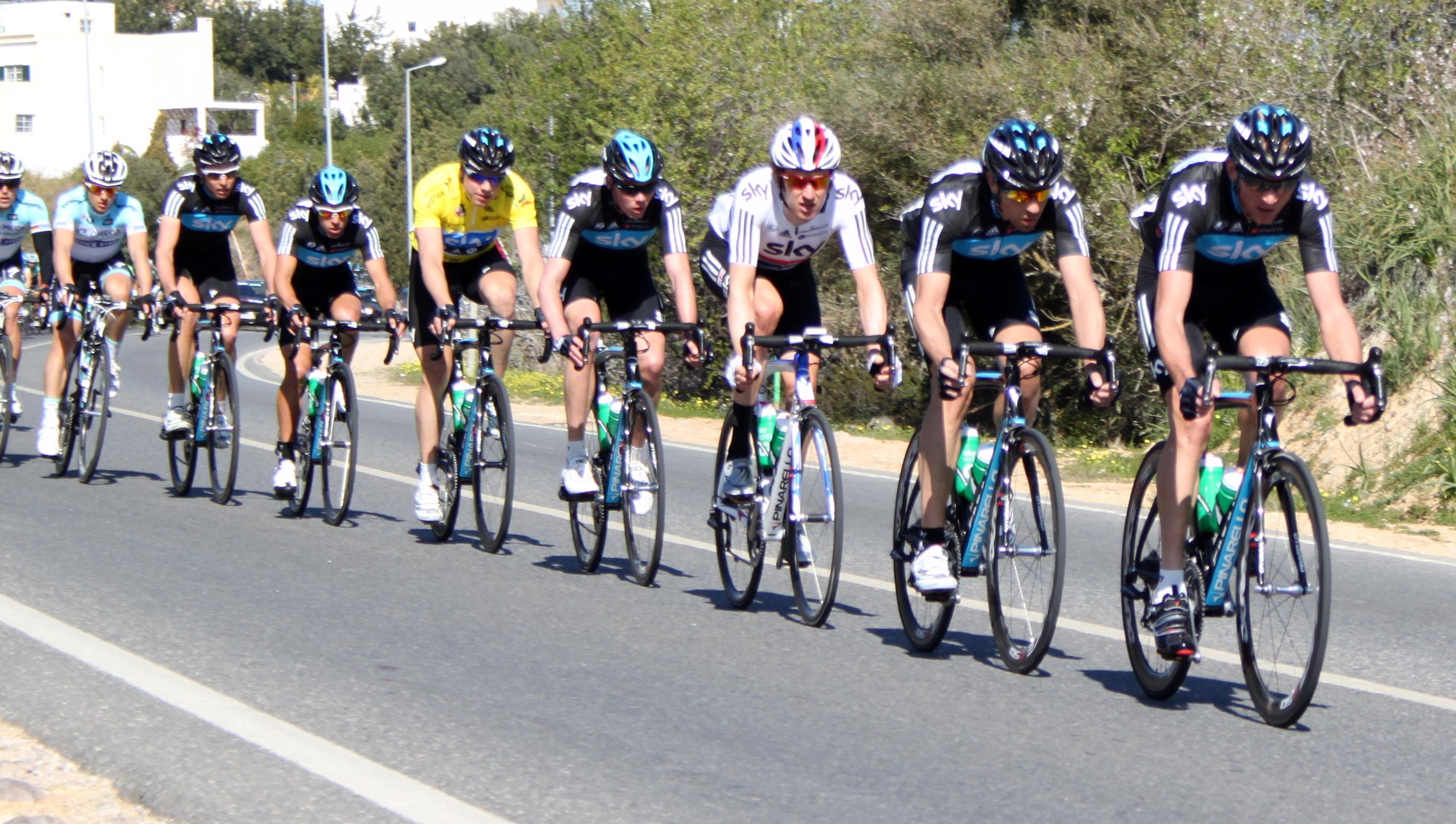 Team Sky Tour Riders