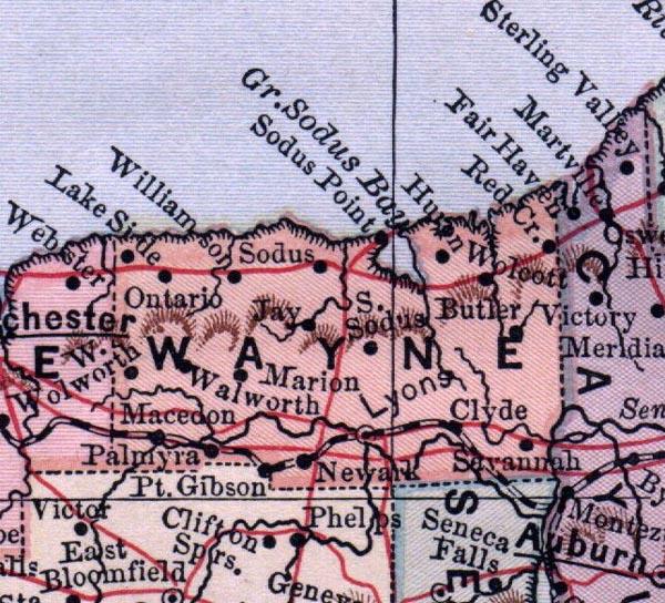 Wayne County, NY - 1885