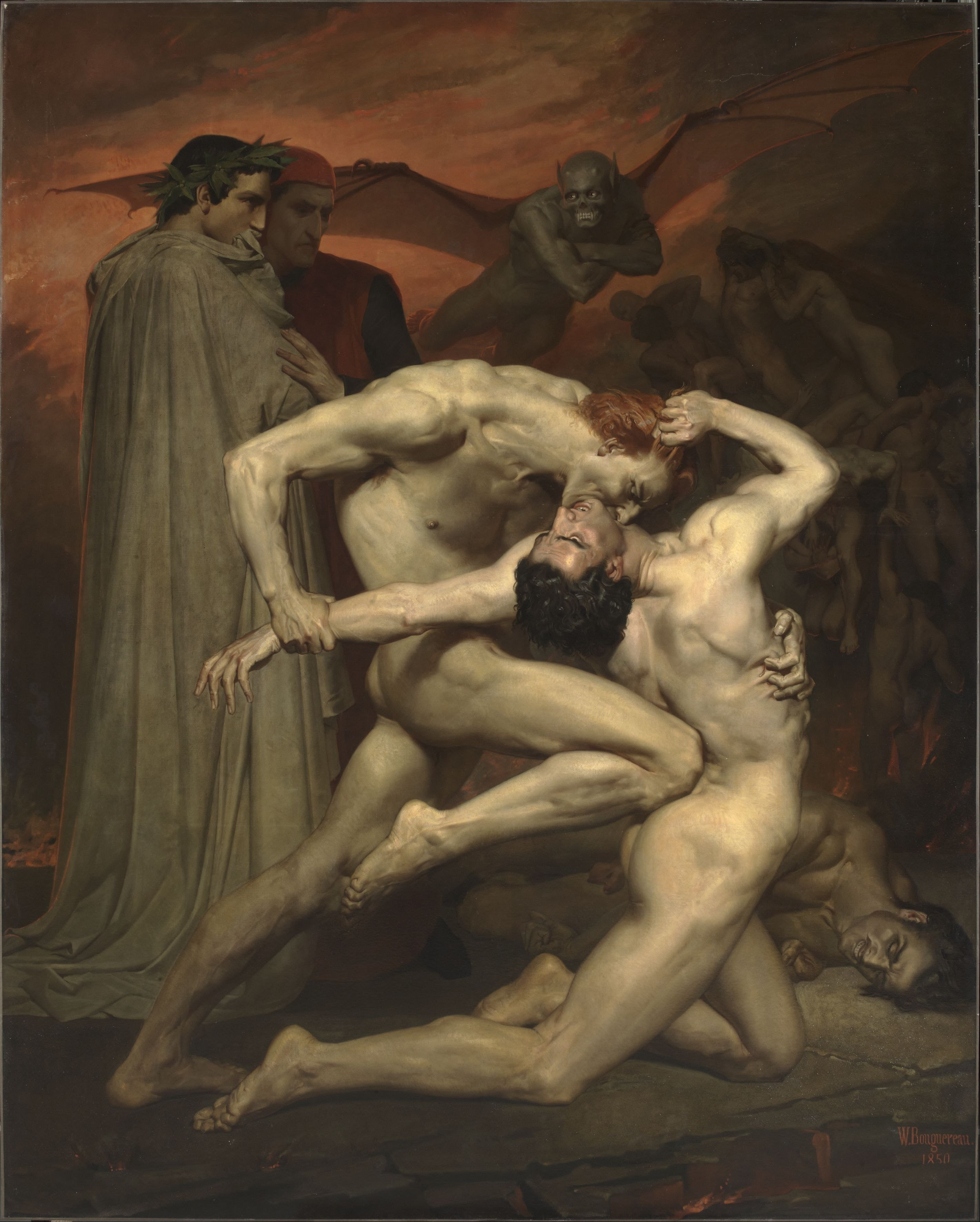 What Dante and virgil in hell consider