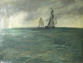 Marine, temps d'orage