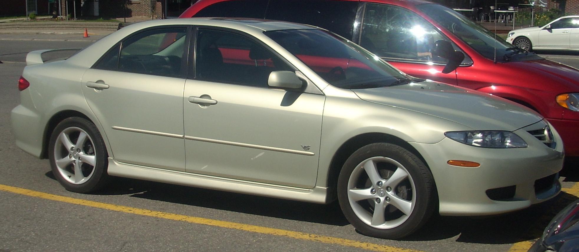 File 03 05 Mazda6 V6 Sedan Jpg Wikimedia Commons