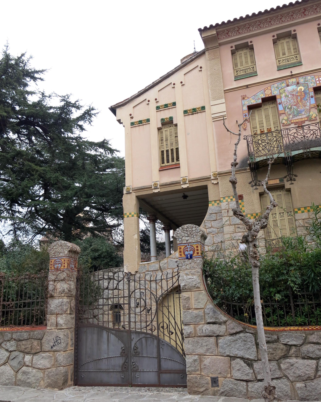 File 044 casa barbey fa ana c manuel raspall la garriga - Casa la garriga ...