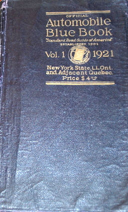 The blue book of car values