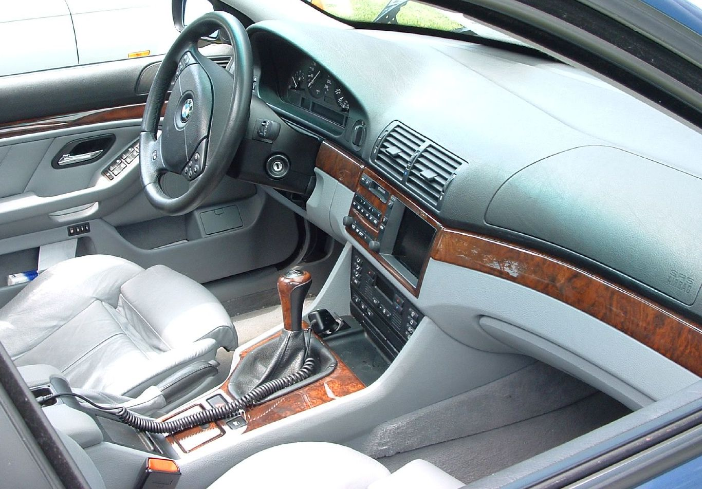 File 1996 2001 Bmw E39 Interior Jpg Wikimedia Commons