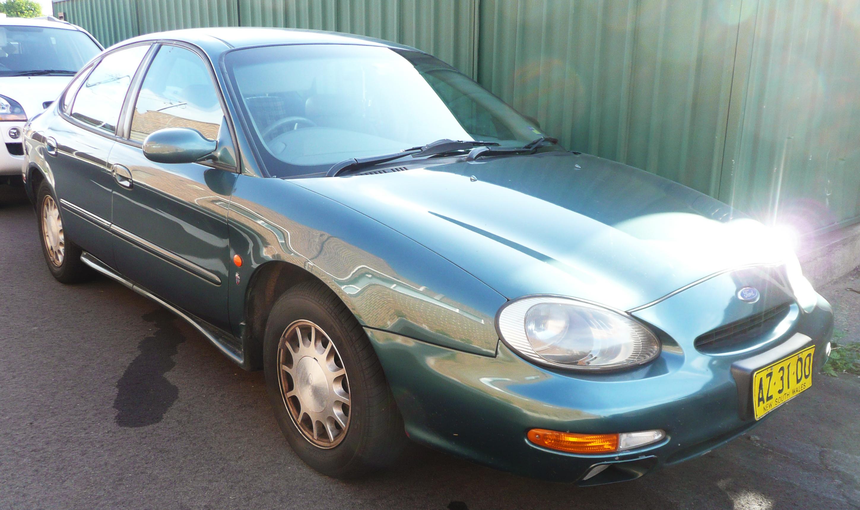 File 1997 ford taurus dp ghia sedan 2009 10 23
