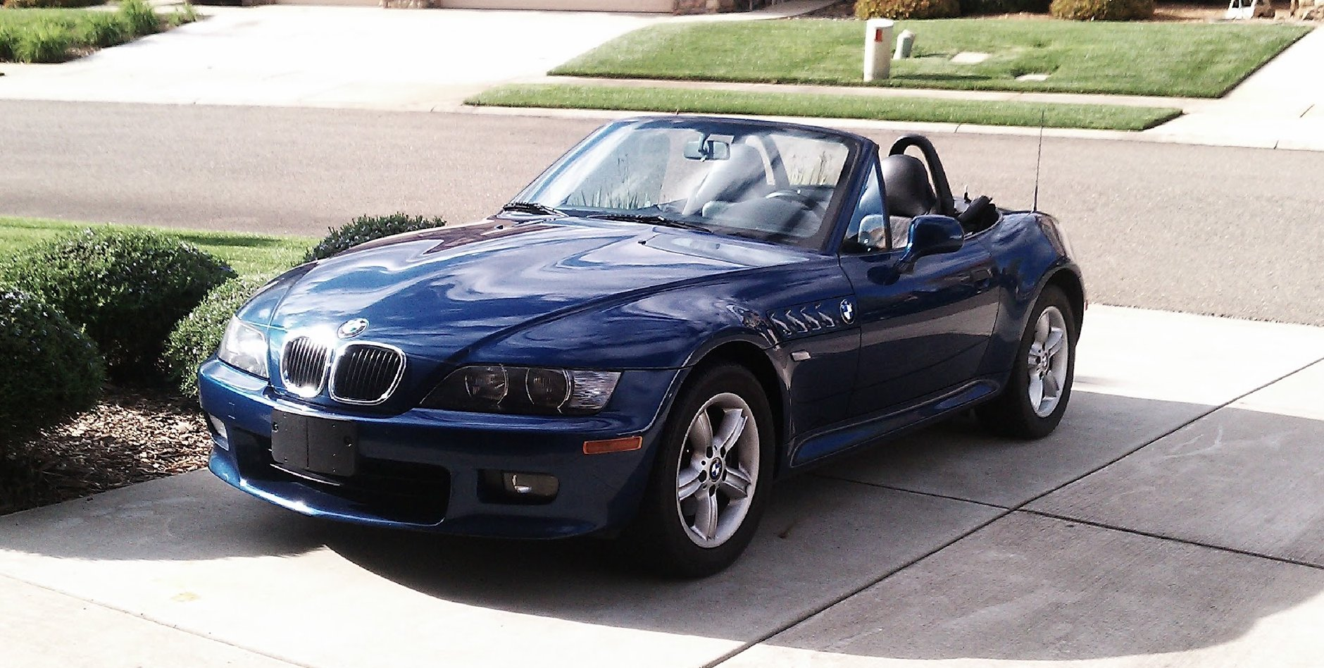File 2001 Bmw Z3 2 5i Topaz Blue Jpg Wikimedia Commons