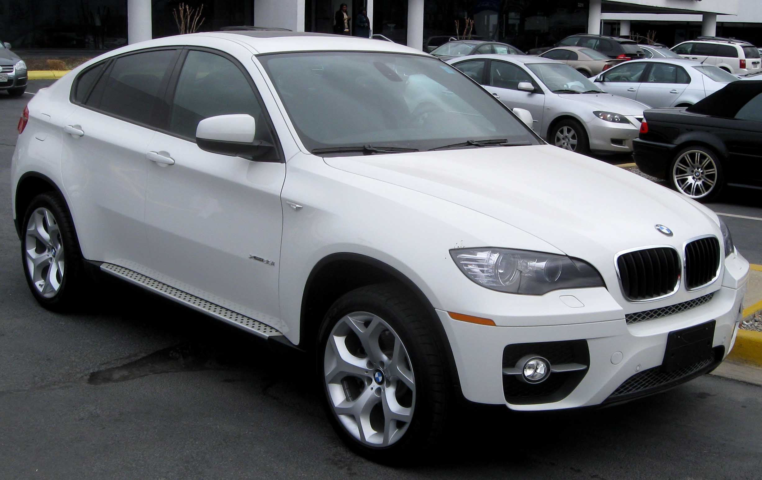 File 2009 Bmw X6 Xdrive35i Jpg Wikimedia Commons