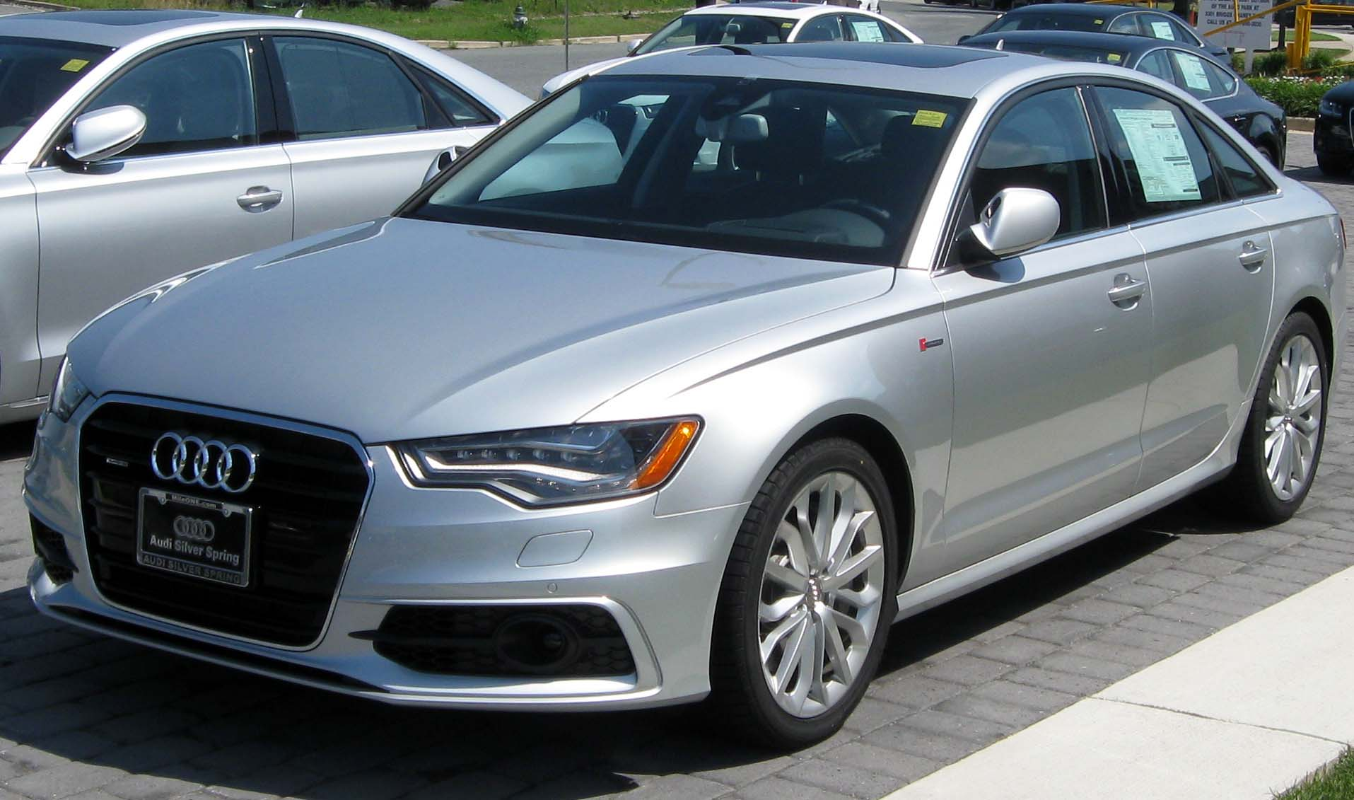 File:2012 Audi A6 -- 07-07-2011 1.jpg - Wikimedia Commons