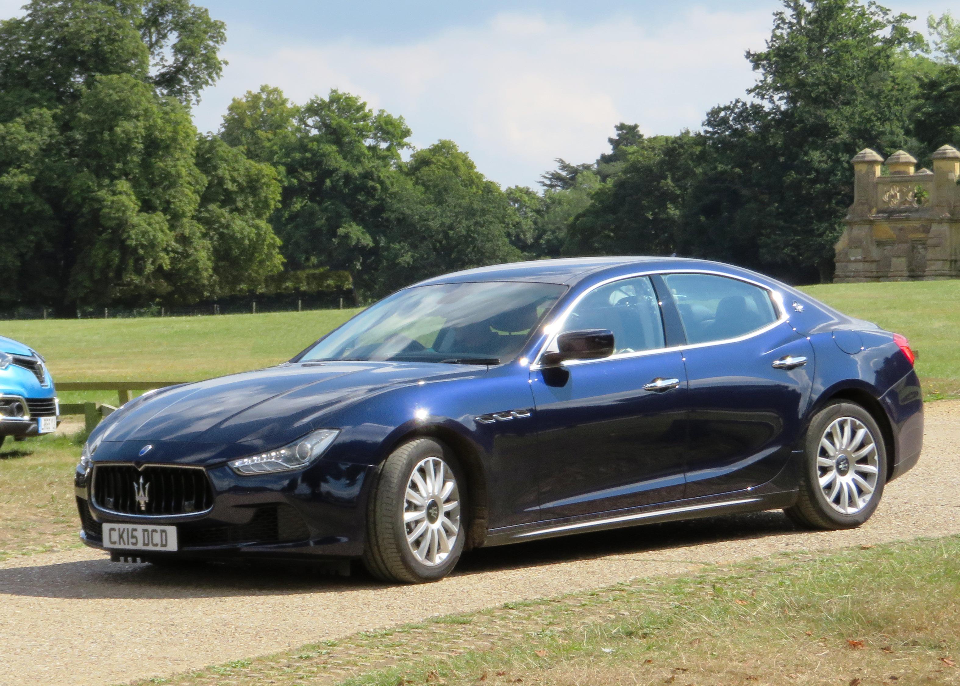 File:2015 Maserati Ghibli III, 2987cc, registered March ...