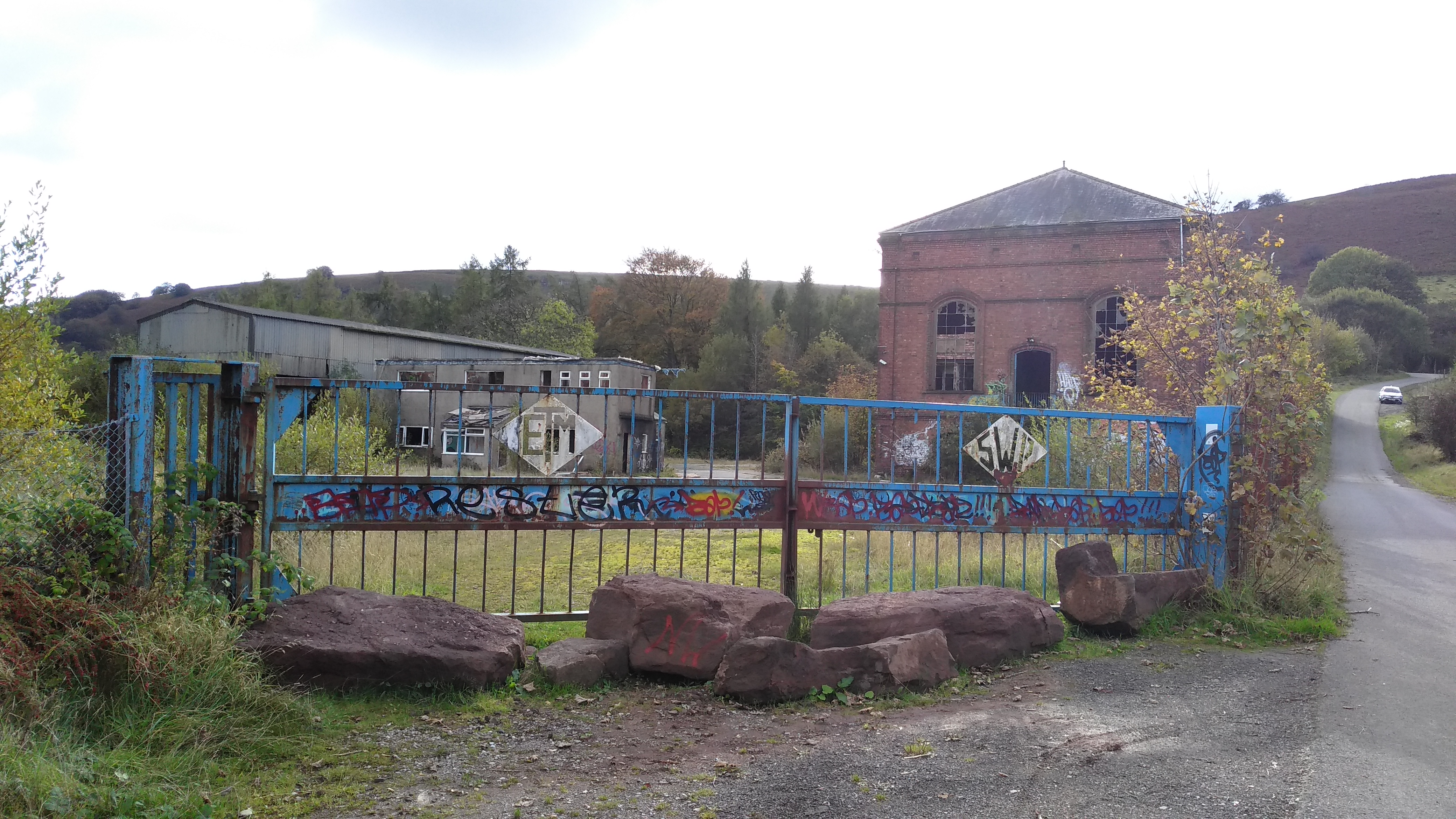 20191020 Former colliery engine house at ETM Steel Fabrication 3.jpg This file has no , and may be lacking other information. Please