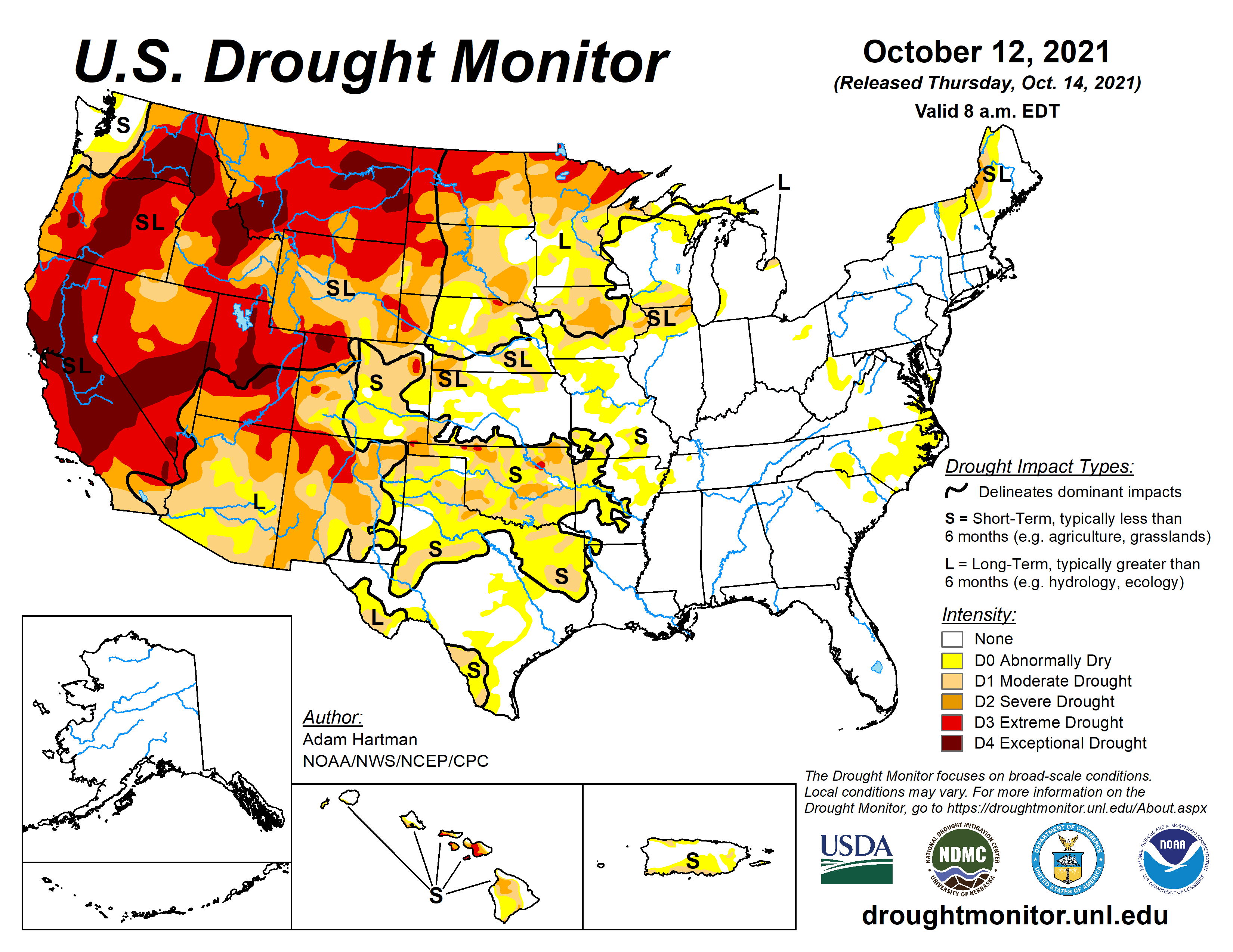 Another Year of La Niña May Extend the Western Drought
