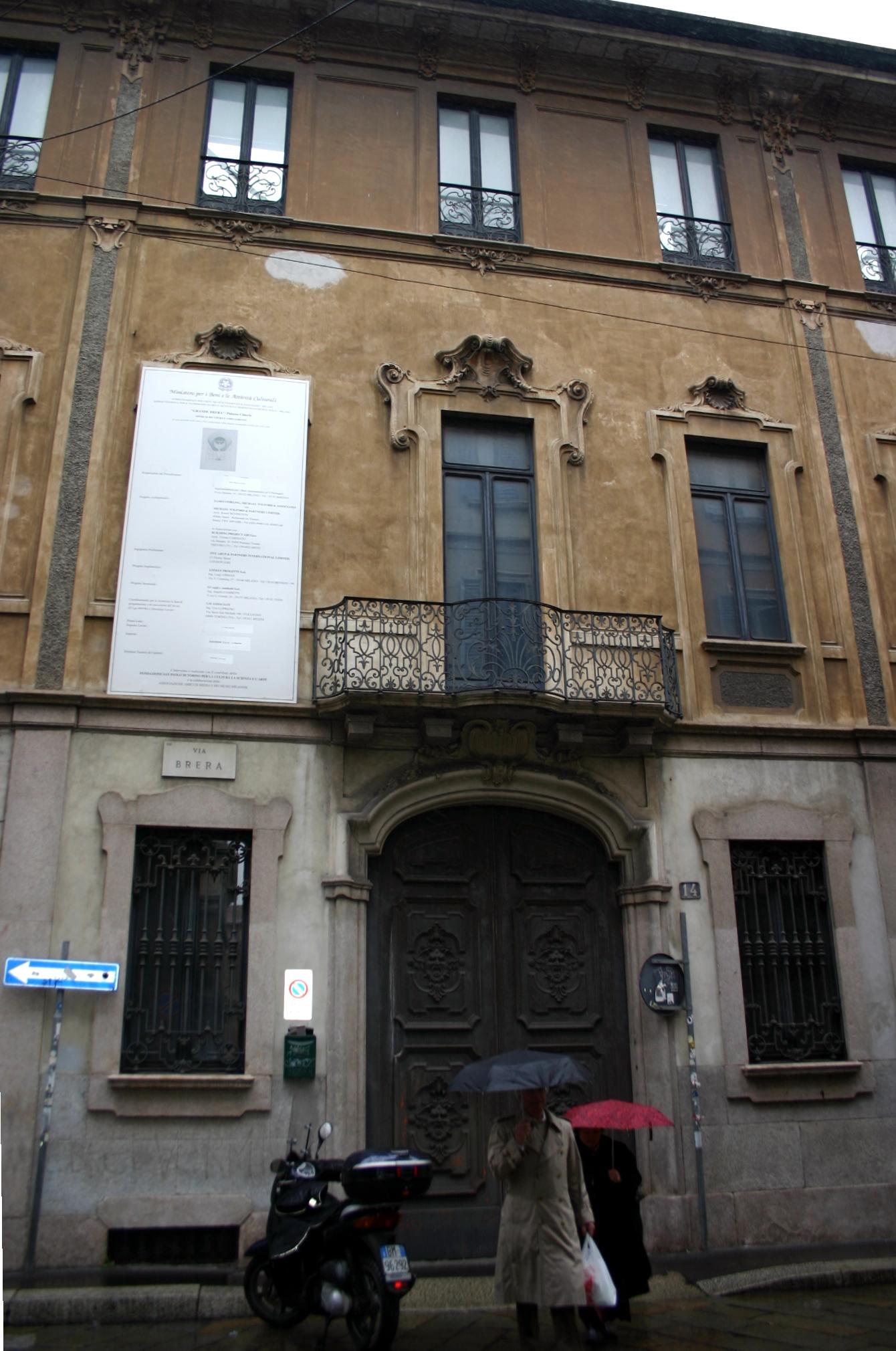 Milano Palazzo citterio Brera