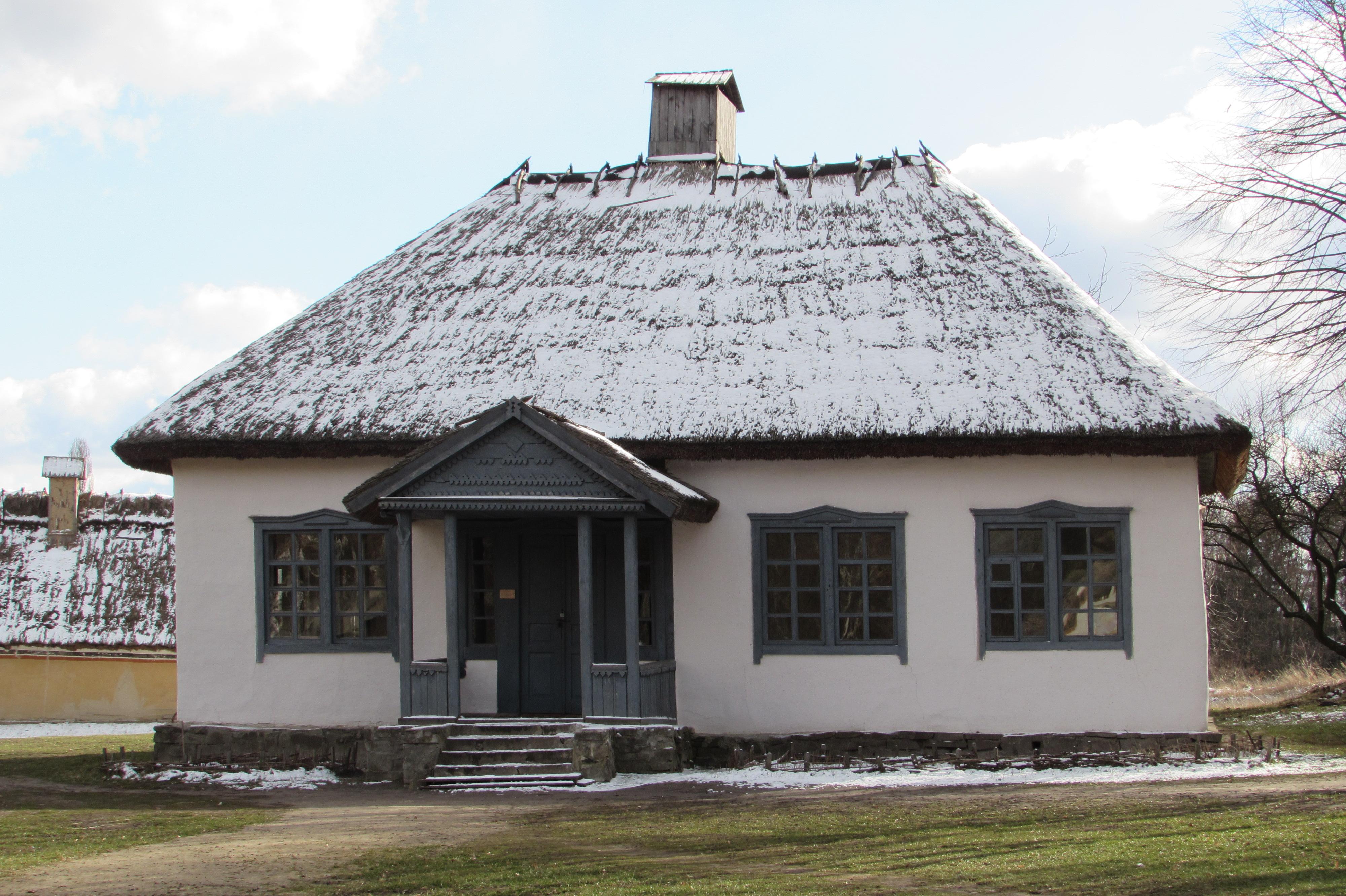 Сільська школа з Черкащини в Пирогівському музеї