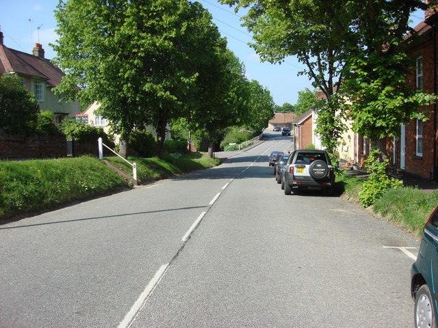 File:A1141, Lavenham High Street - geograph.org.uk - 815338.jpg