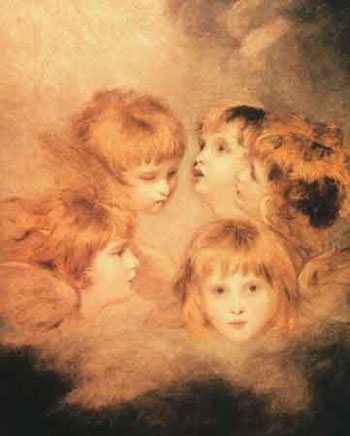 Archivo:A Cherub Head in Different Views by Joshua Reynolds.jpg