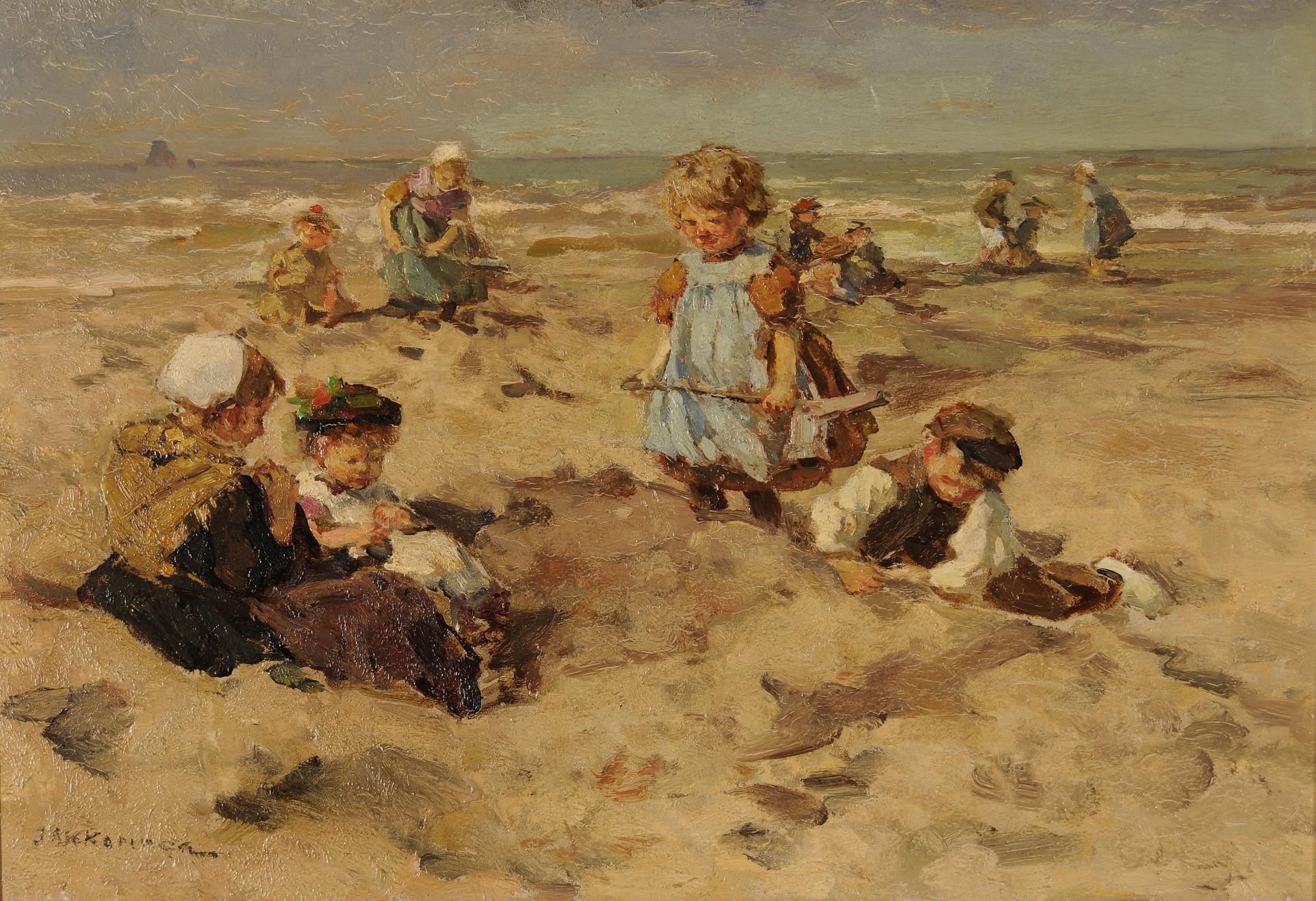 File akkeringa kinderen aan het wikimedia commons - Kinder schilderij ...