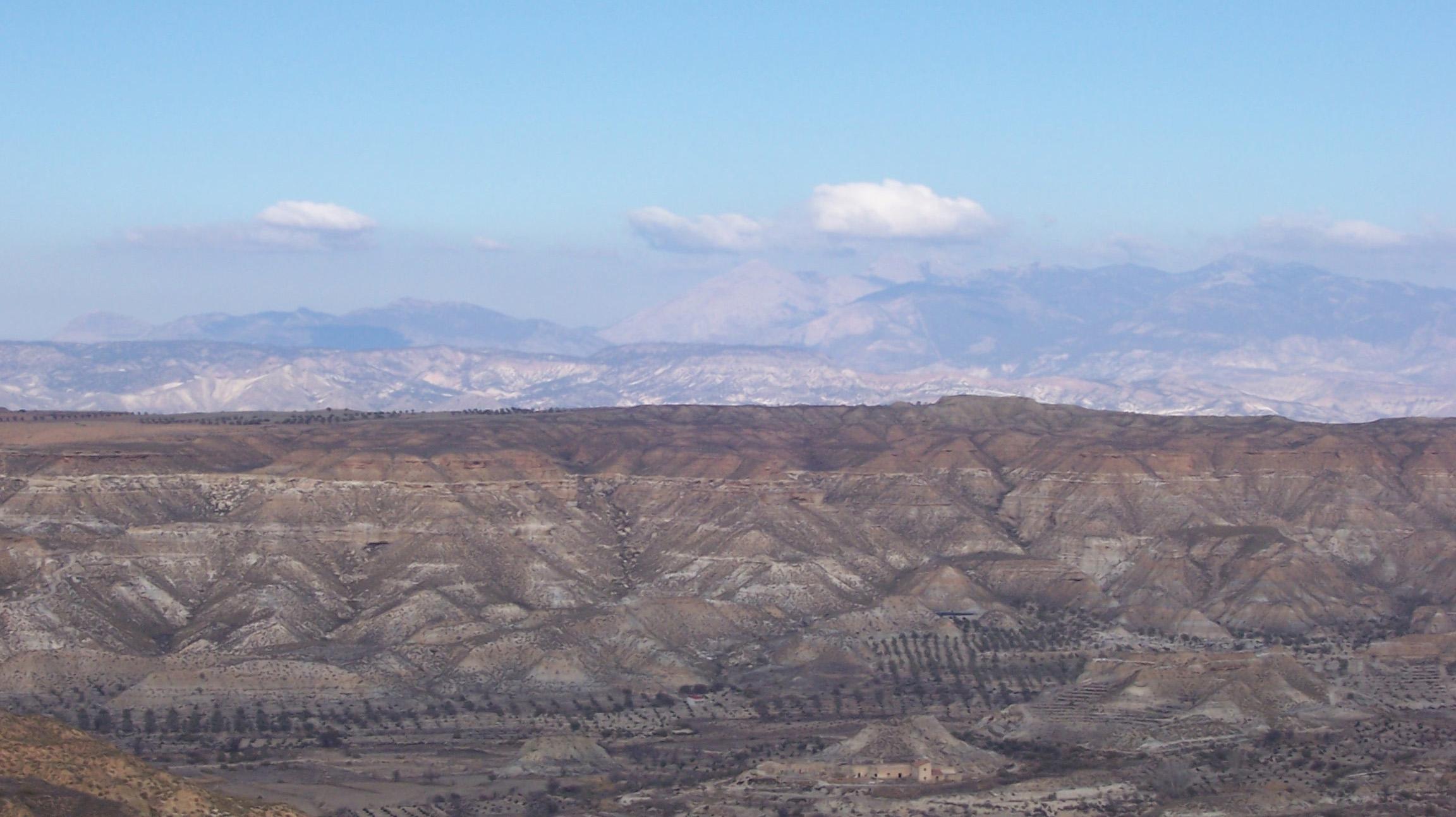 Depiction of Desierto de Tabernas