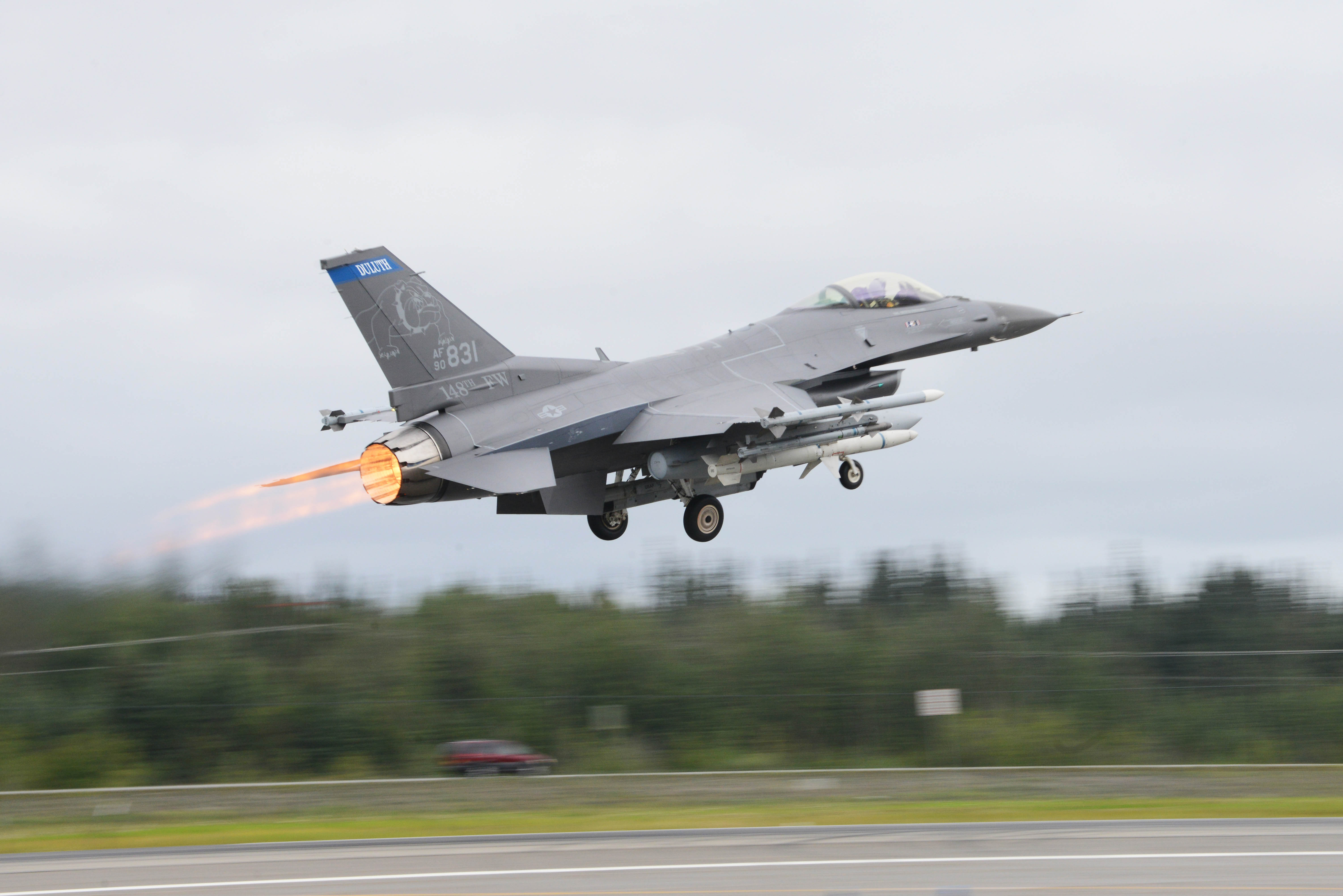 File:An F-16 Fighting Falcon assigned to the 179th Fighter Squadron