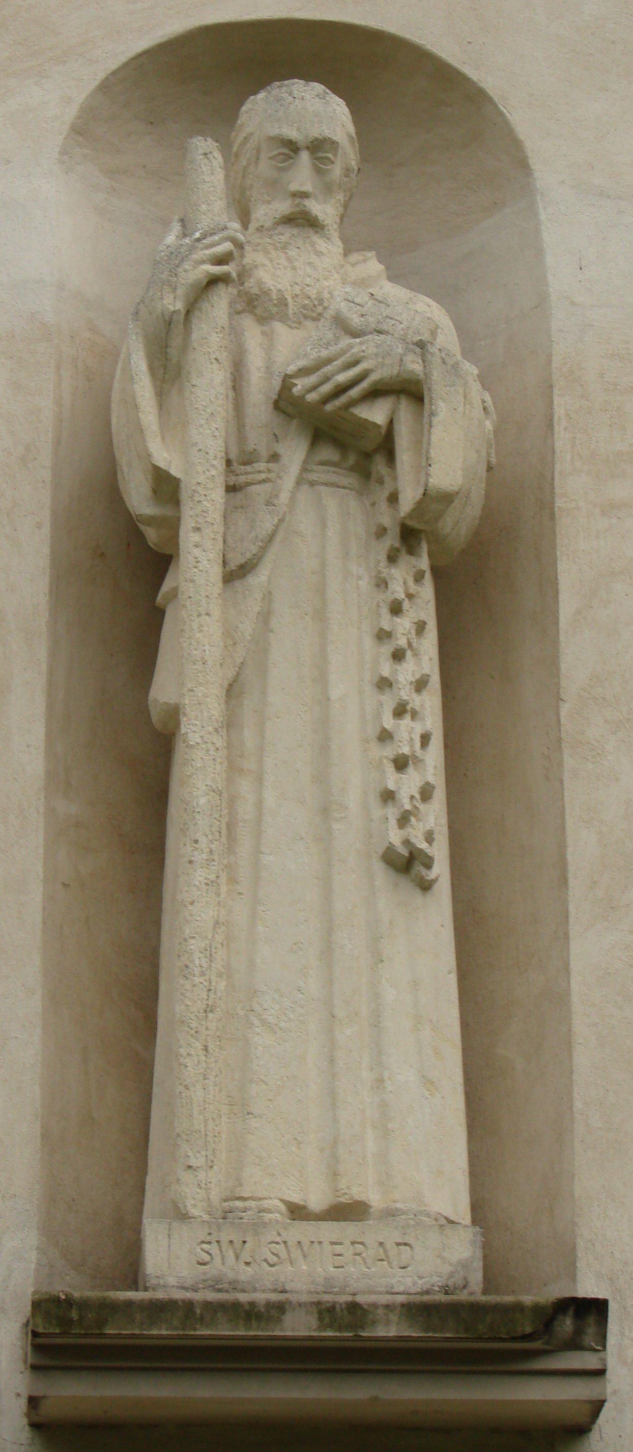 Skulptur av Andreas Zorard i kirken St Josef i Muszyna i Polen