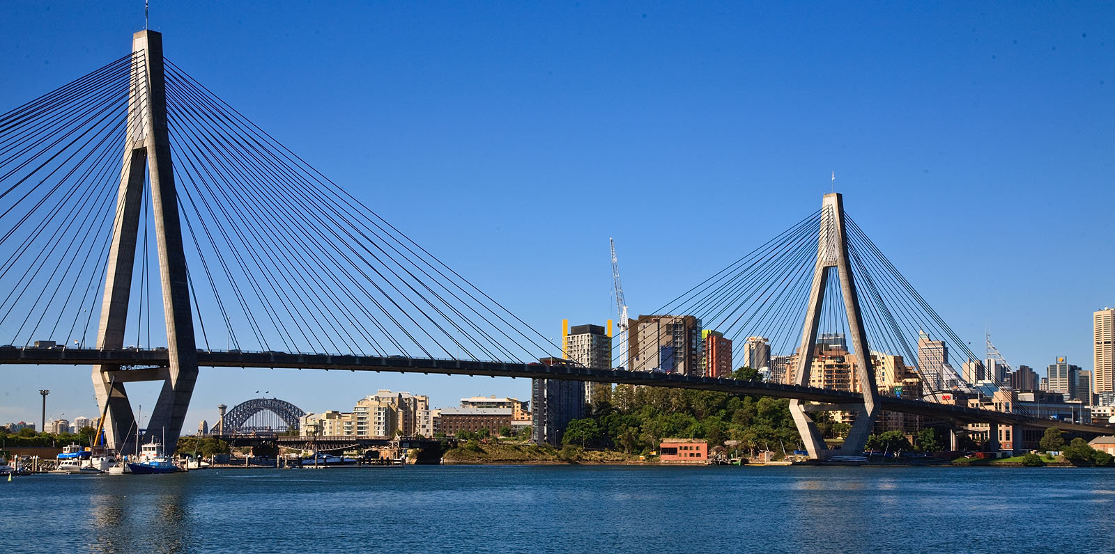 Anzac Bridge - Wikipedia