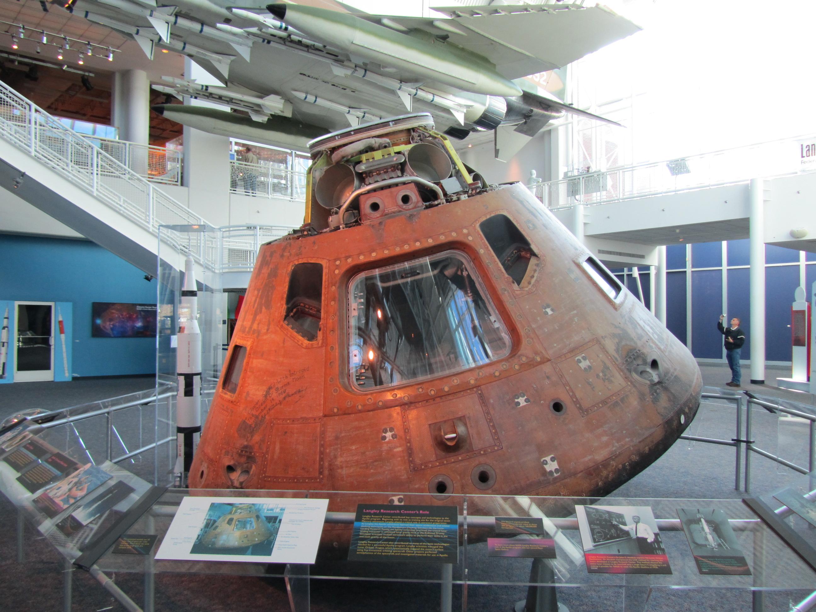 apollo spacecraft command module - photo #12