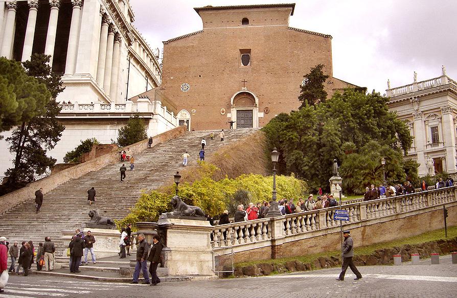 Basilica di santa maria in aracoeli wikipedia for Quando si festeggia santa ilaria
