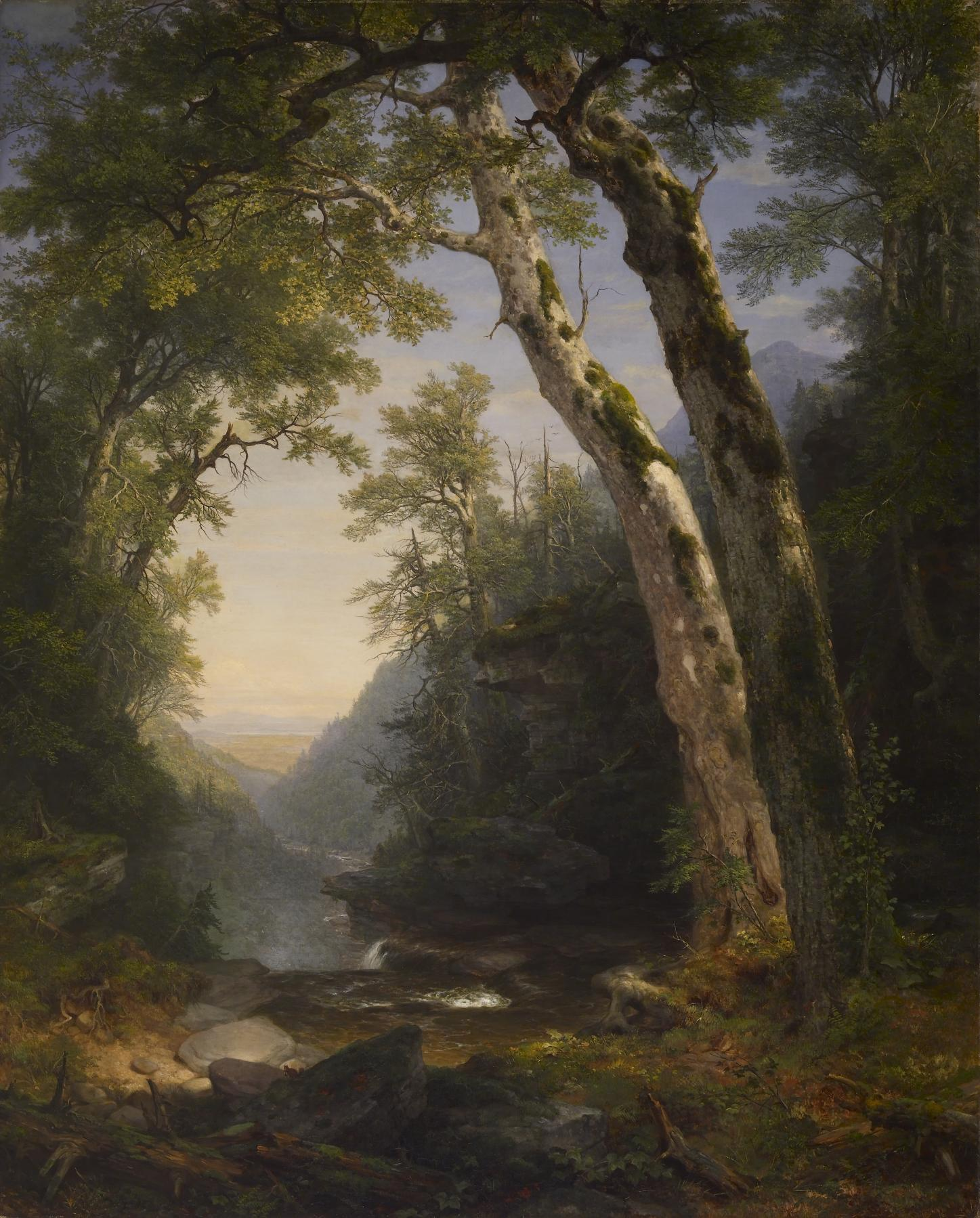 """Asher Brown Durand – The Catskills – Walters 37122"""