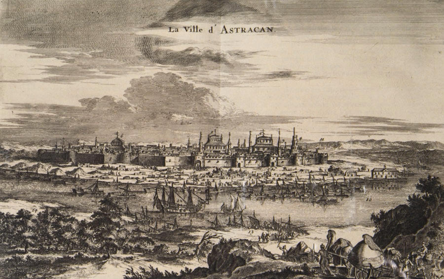 Astrakhan_in_XVII_engraving_from_book_16