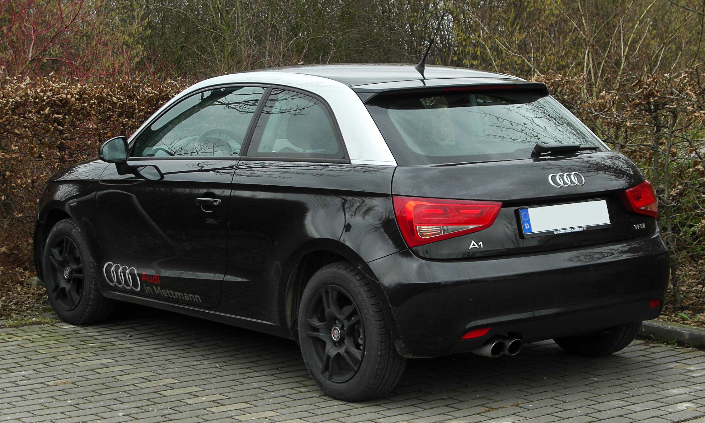 File:Audi A1 1.4 TFSI Ambition rear 20110206, Wülfrath.jpg - Wikimedia Commons
