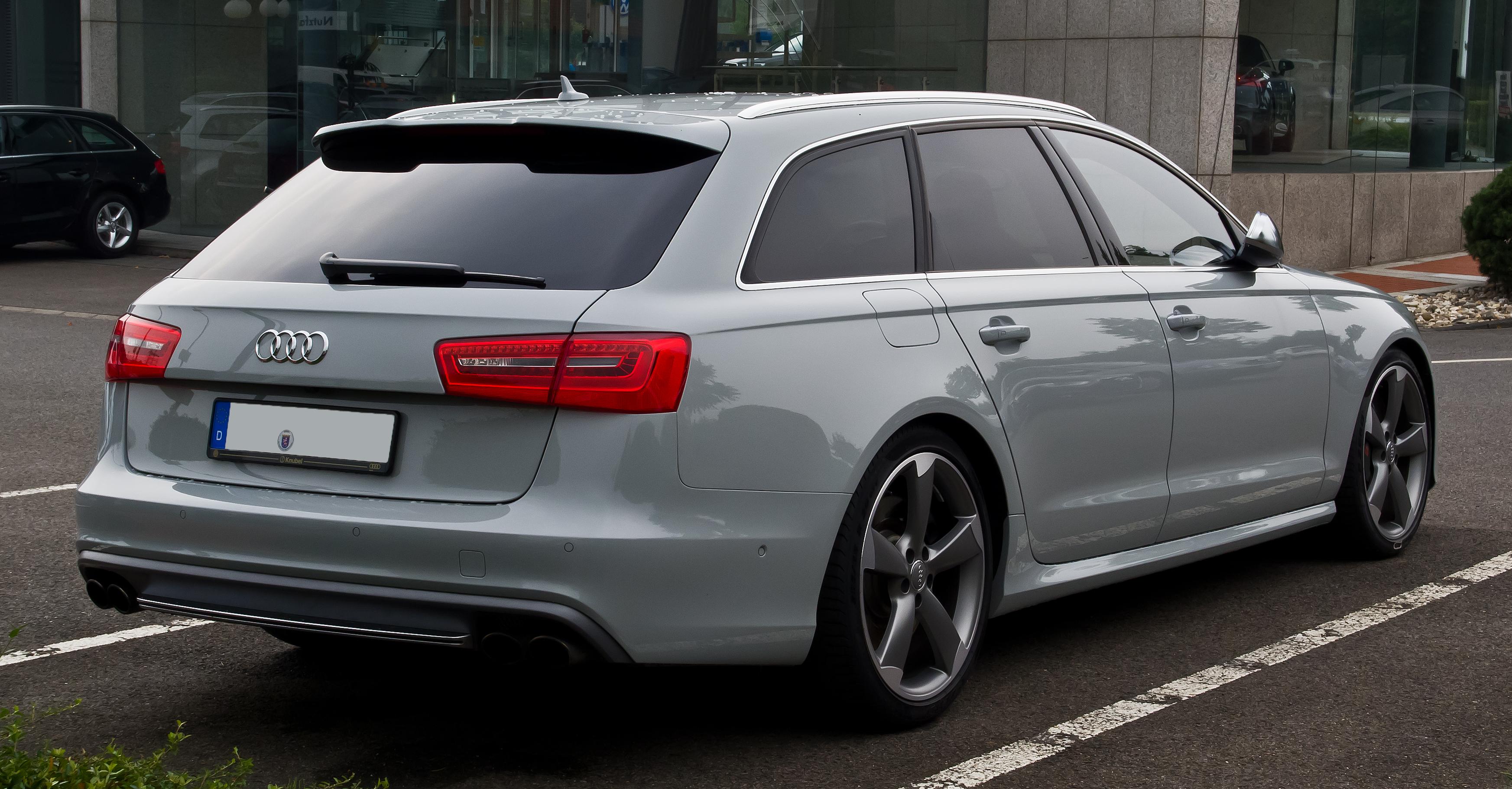 File:Audi S6 Avant (C7) – Heckansicht, 7. September 2013 ...
