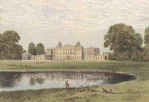 via wiki commons; an example of Capability Brown in landscape design