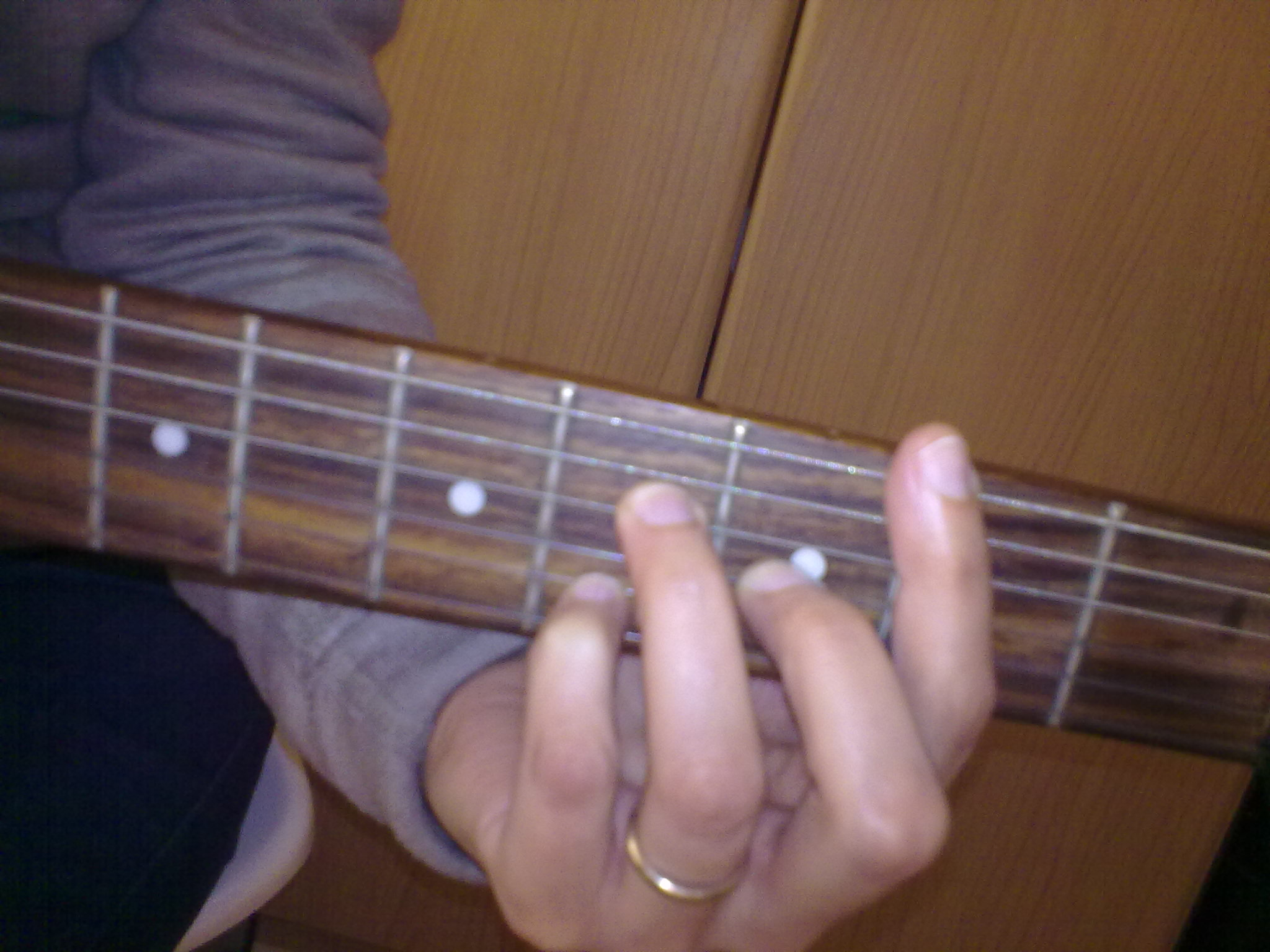 Filebarr Accordo A Base Di La7 Chitarra Amaj7 Shape Bar Chord