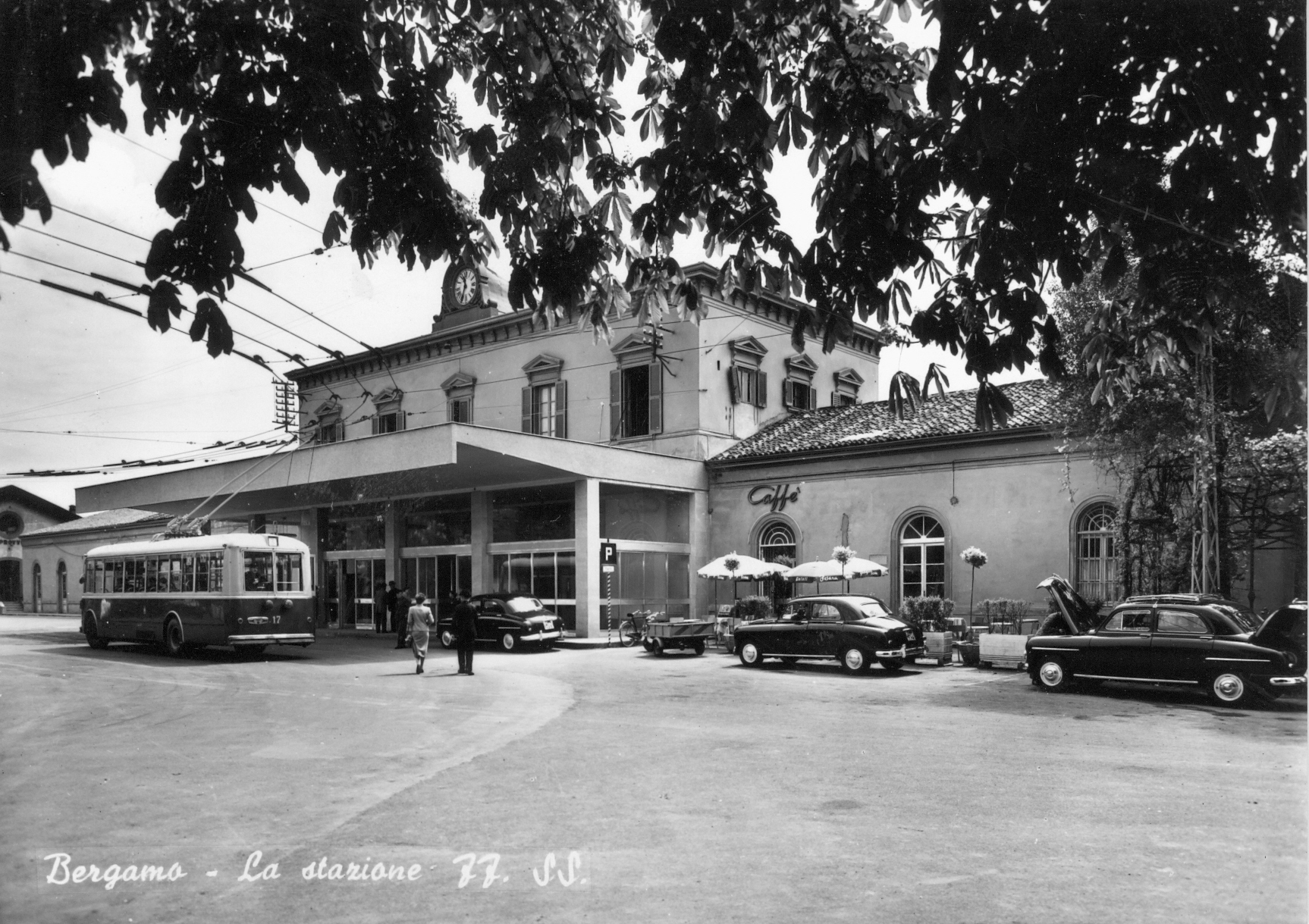 Stazione di Bergamo nel secondo dopoguerra