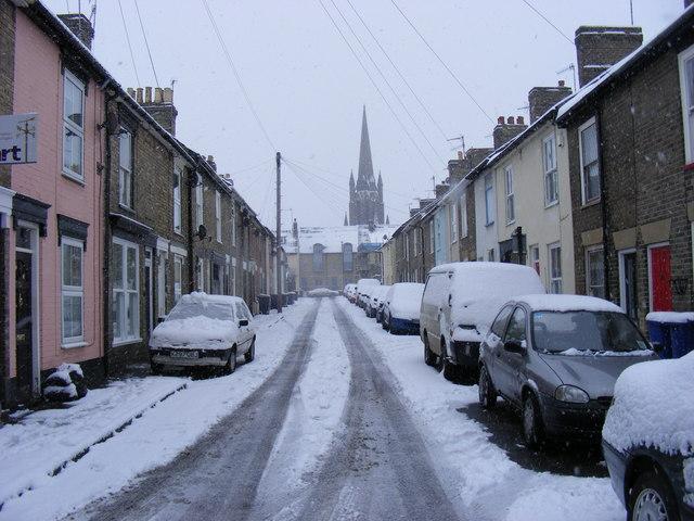 Bury Saint Edmunds United Kingdom  City pictures : Bishops Road, Bury St Bury Saint Edmunds, United Kingdom