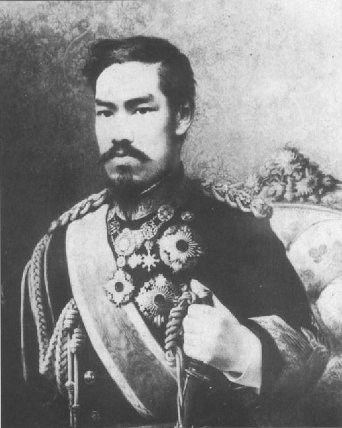 Image result for emperor meiji