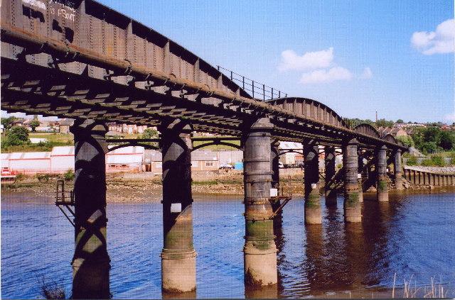 Blaydon - Scotswood Railway Bridge