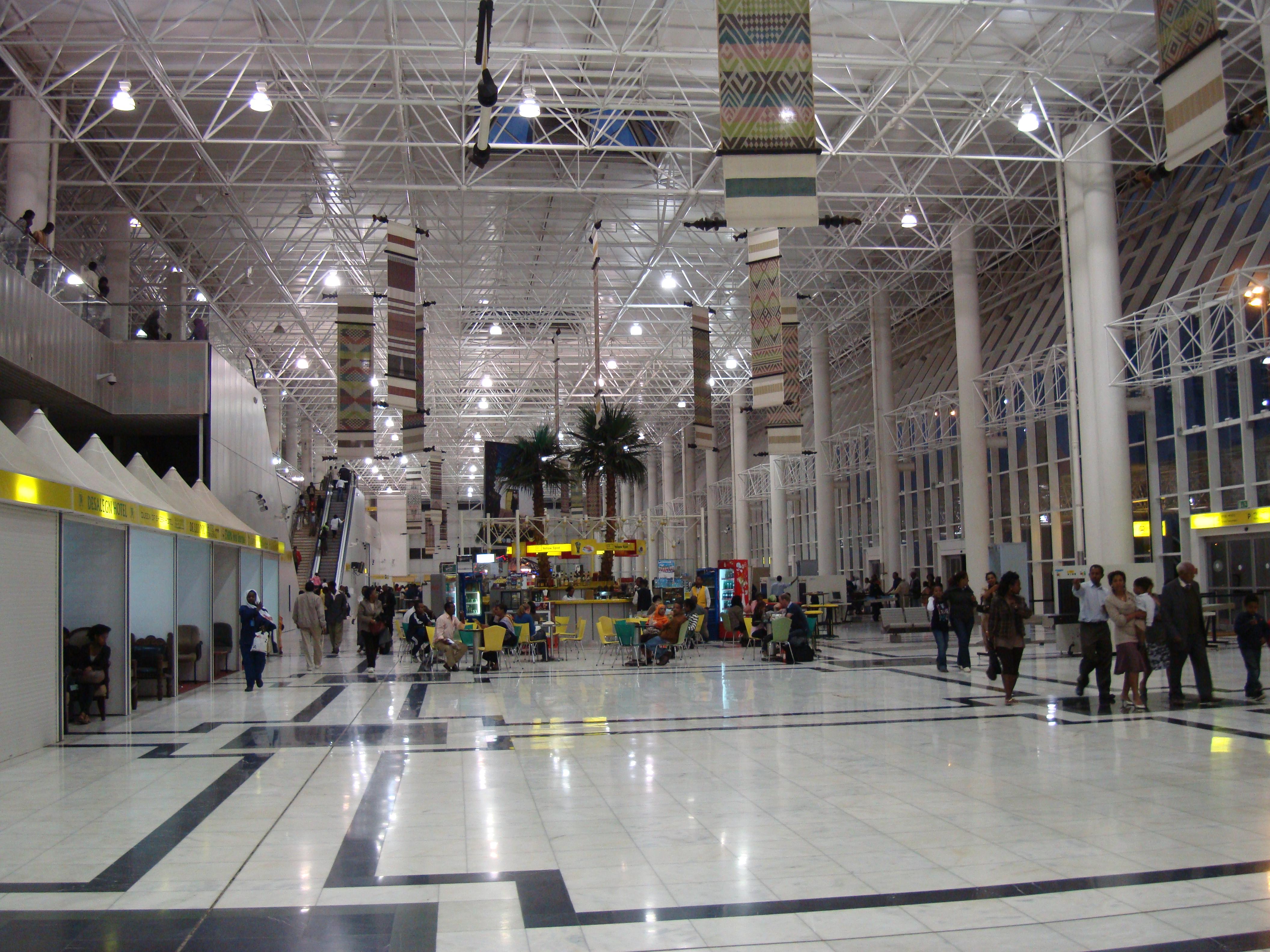 Aeroporto Etiopia : File bole international airport g wikimedia commons